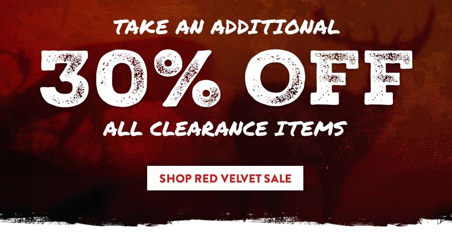 8th Annual Red Velvet Sale = Extra 30% Off