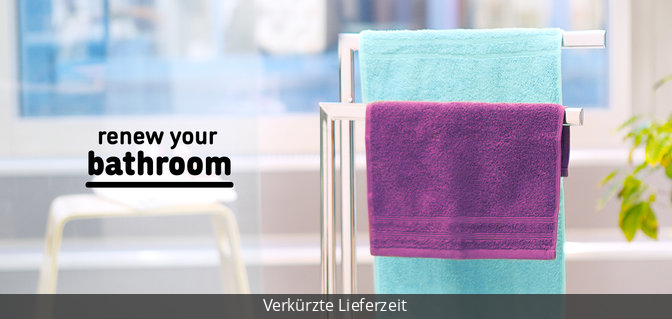 Renew your bathroom