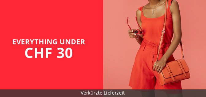 Everything under CHF 30