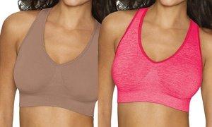 Hanes Women's ComfortFlex Fit Bra (2-Pack). Plus Sizes Available.