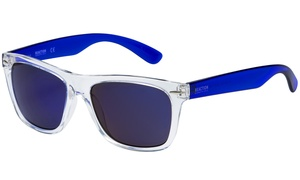 Kenneth Cole Reaction Crystal Clear Square Sunglasses
