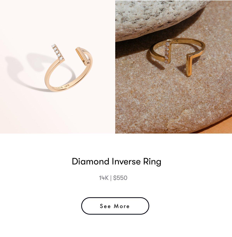 diamond inverse ring