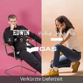 Edwin, Nudie Jeans, GAS