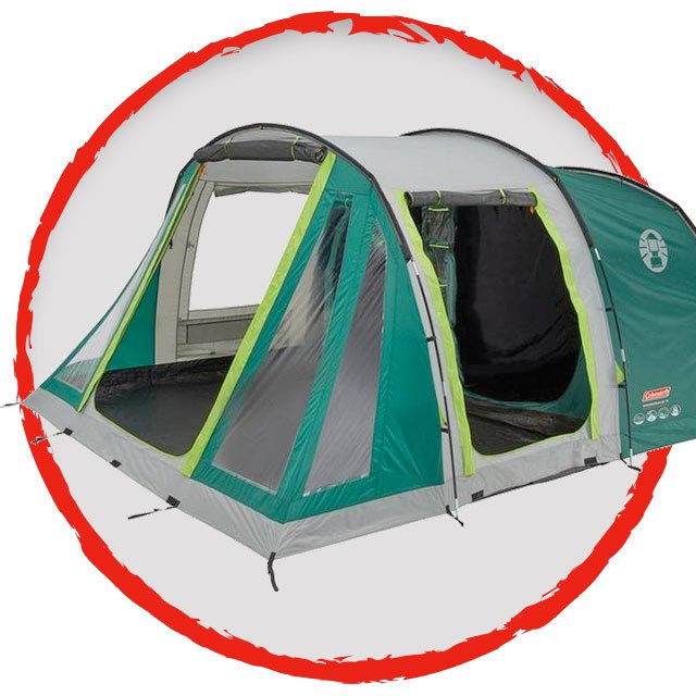 Coleman Mosedale 5 Family 5 Person Tent