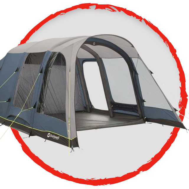 Outwell Elmwood 5A Inflatable Tent