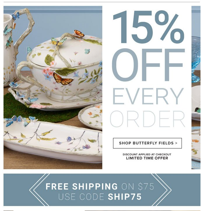 15% Off Every Order!