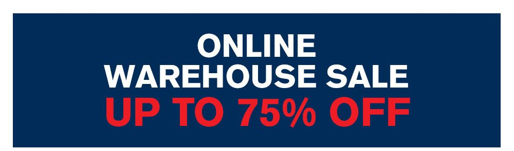 Online Warehouse Sale Up To 75% Off