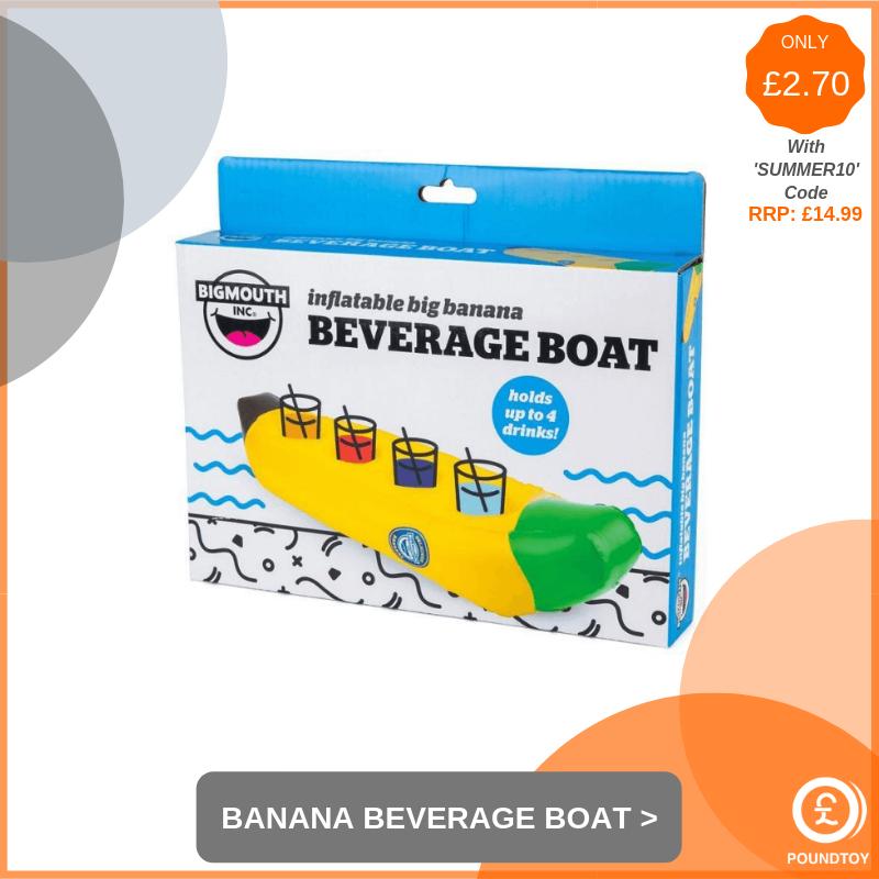 Inflatable Big Banana Beverage Boat
