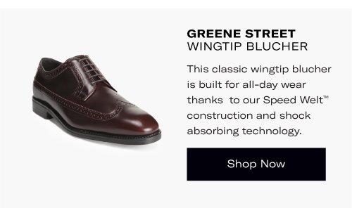 Greene Street Wingtip Blucher