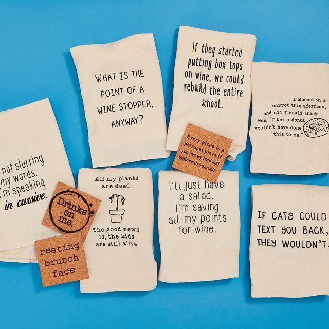 Quirky Kitchen Towels