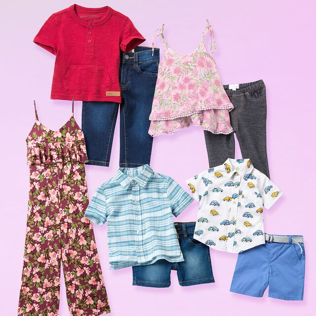 End of Summer: Kids' Styles Under $20