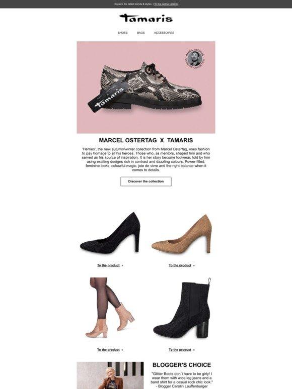Tamaris: Marcel Ostertag X Tamaris: the new designer