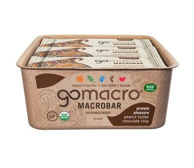 Image of Organic MacroBars Snack Bars - Case of 12