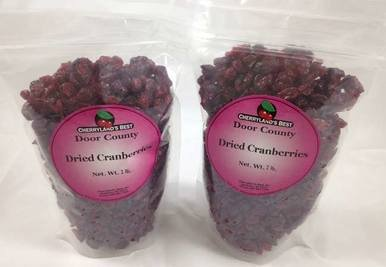 Image of Sweetened Dried Cranberries - Two 2 lb. Packs