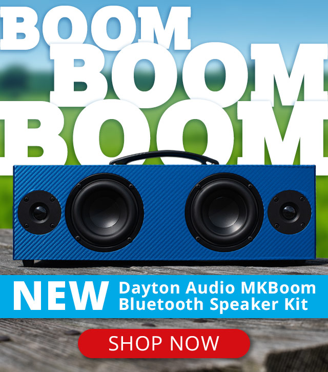 Parts Express -> eBay: DIY Bluetooth Speaker Kit | Milled