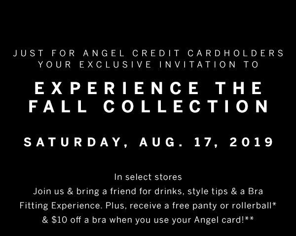Experience the fall collection