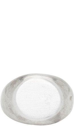 Jil Sander - Silver Classic Chevalier Ring