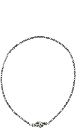 Martyre - Silver Lennox Choker Necklace