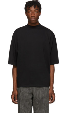 Jil Sander - Black Boxy Fit T-Shirt