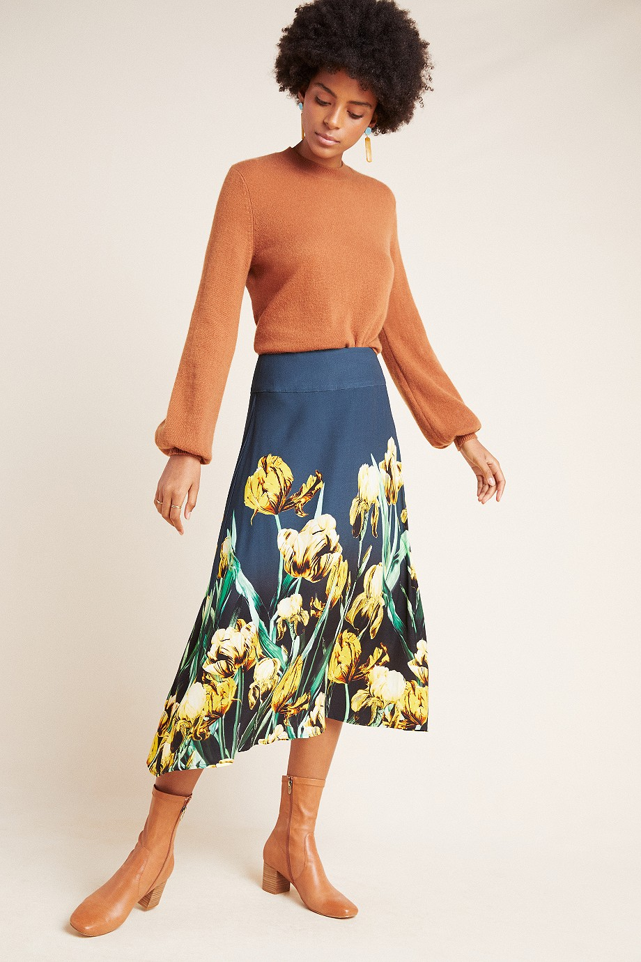 Corey Lynn Calter Linda Midi Skirt