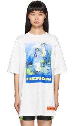 Heron Preston - Off-White Heron Birds T-Shirt