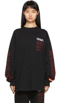 Heron Preston - Black Facts Long Sleeve T-Shirt