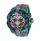 Invicta DC Comics Limited Numbered Edition Jokers Mens Quartz 52.5 mm Stainless Steel
