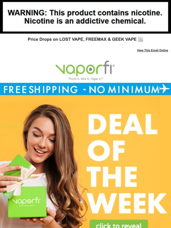VaporFi: 🎁 Your Weekly Deals Preview 💝 | Milled