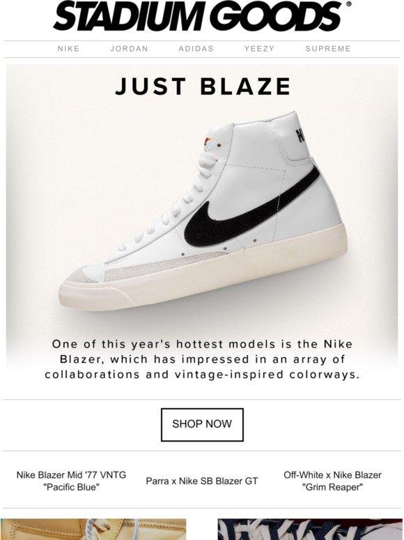 Stadium Goods: Heat up with the Nike