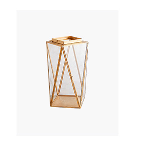 Shop Chloe Golden Modern Lanterns