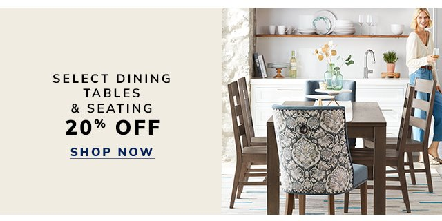 Save on tables and seating.