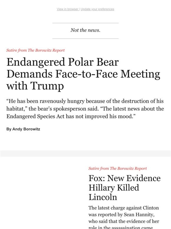 TheNewYorker com: Trump Makes a New Enemy | Milled