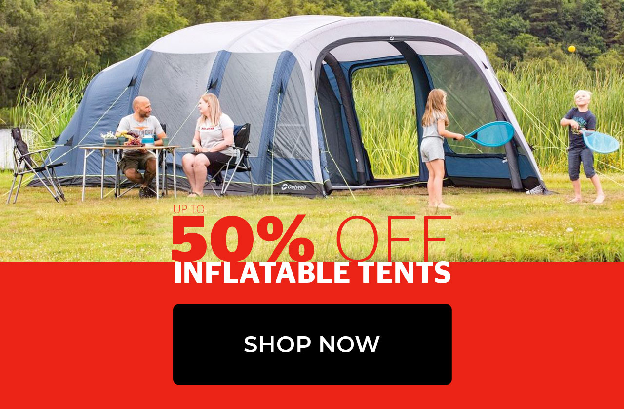 Up to 50% of Inflatable Tents