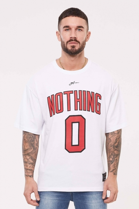 Nothing Oversized White Jersey