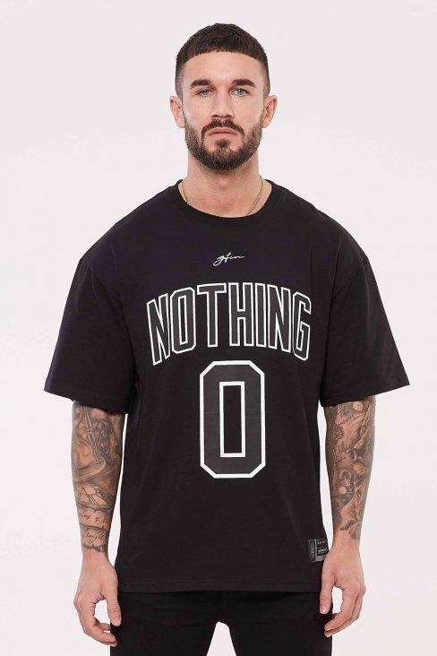 Nothing Oversized Black Jersey
