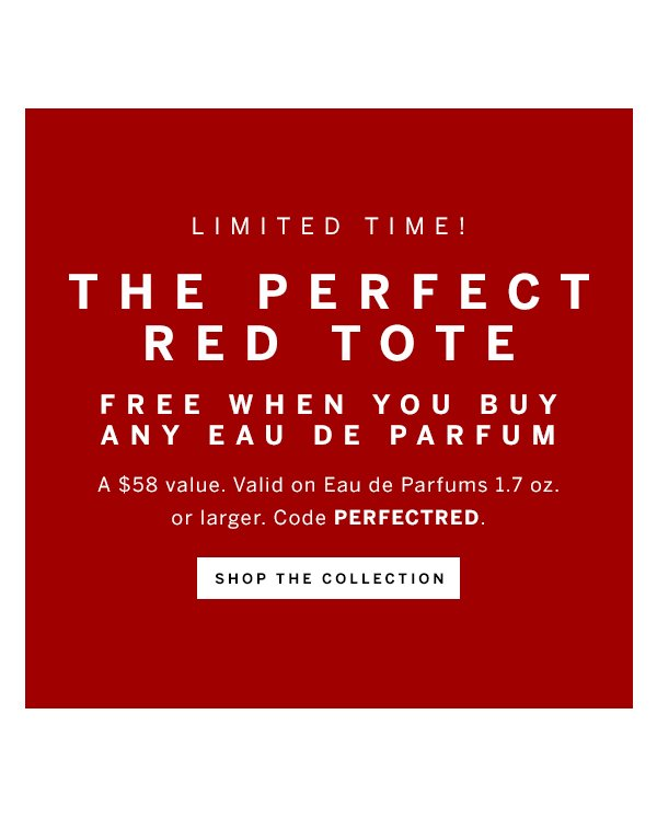 The Perfect Red Tote With Any EDP