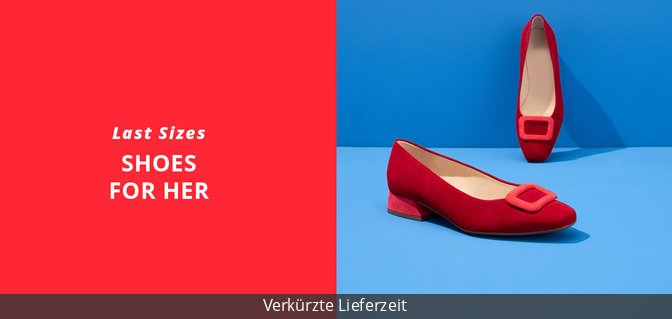 Last sizes - Shoes for Her