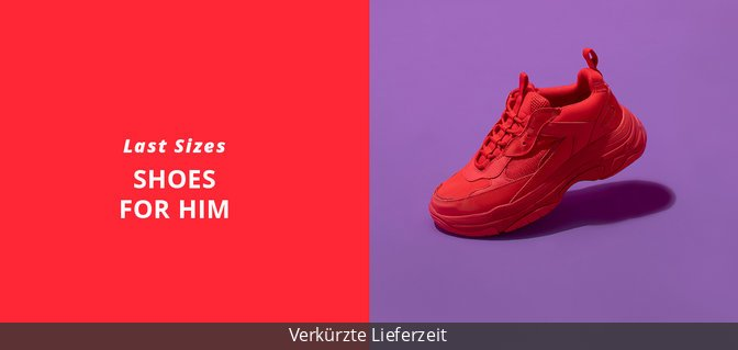 Last Sizes - Shoes for Him