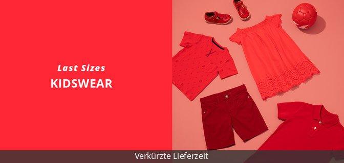 Last Sizes - Kidswear