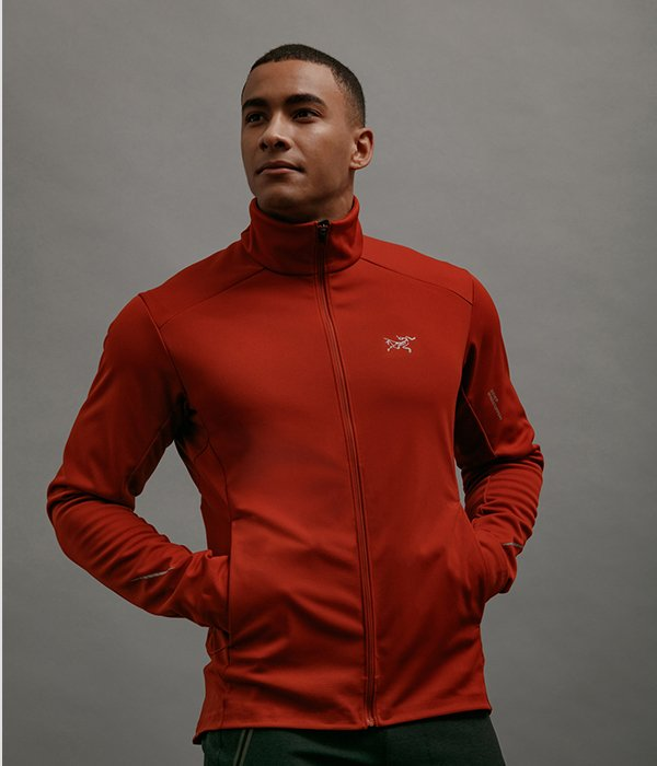 Trino Jacket Men's in Infrared