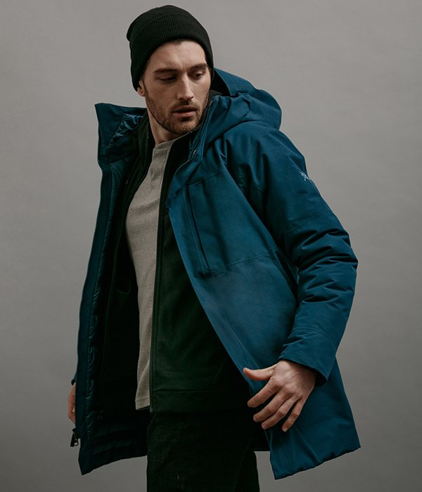 Therme Parka Men's in Nereus