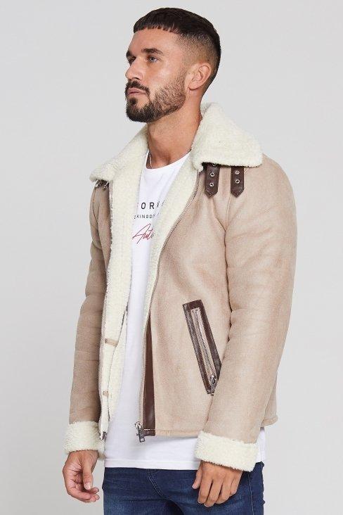 Shearling Tan Jacket