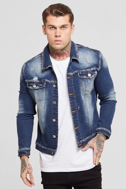 Denim Washed Blue Jacket