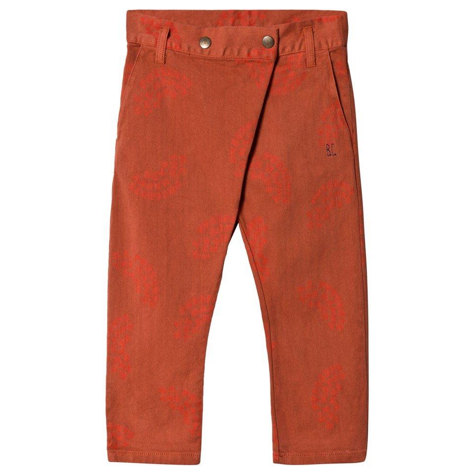 Bobo Choses Burnt Ochre Happy Sads Baggy Trousers