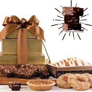 Baked Delights Gift Tower & Free Pecan Fudge
