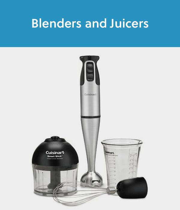 Blenders and Juicers