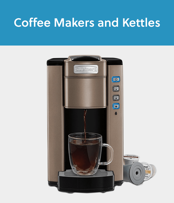 Coffee Makers and Tea Kettles