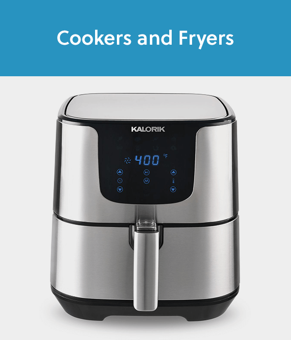Cookers and Fryers