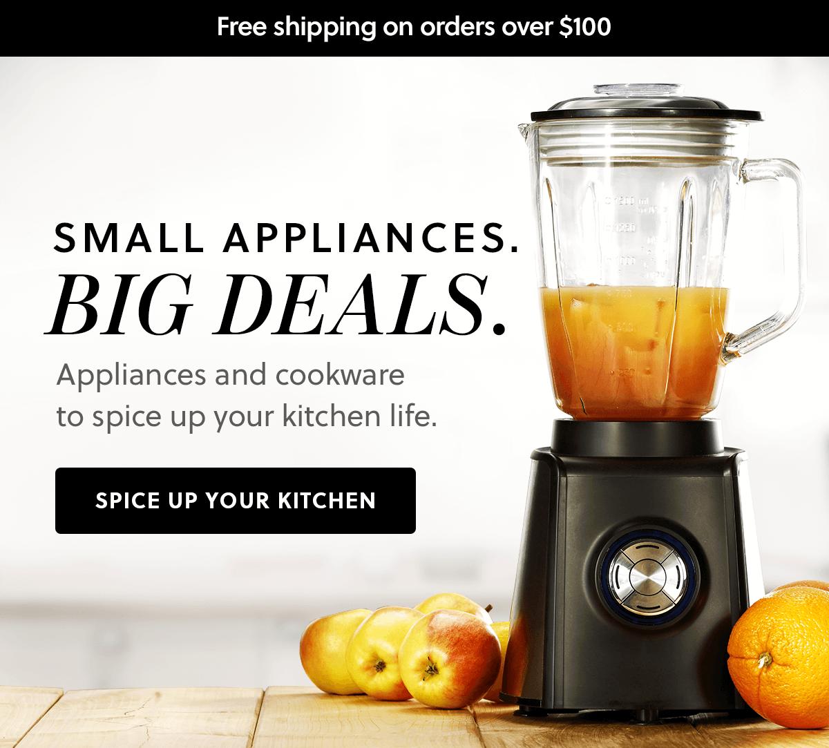 Small Appliances. Big Deals.