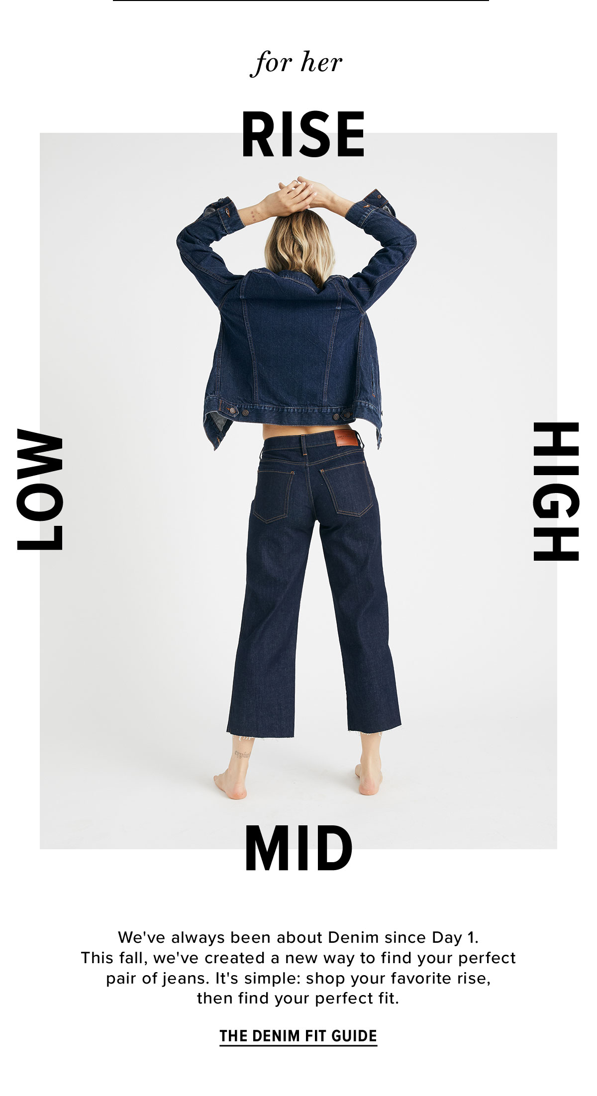 For Her - The Denim Fit Guide